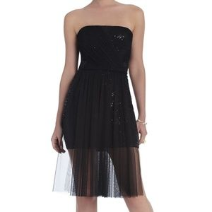 BCBGMAXAZRIA Vienna Strapless Sequin Dress size 2